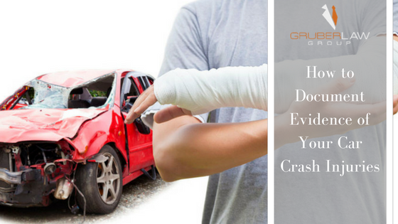 How to Document Evidence of Your Car Crash Injuries